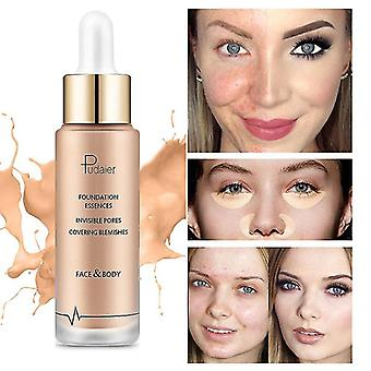Pudaier Waterproof Whitening Control Natural Brighten Beauty Base Cream Makeup Product 40g Concealer