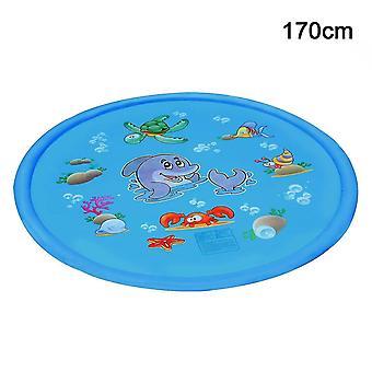 Childrens Water Splash Play Mat Inflatable Spray Water Cushion(170)