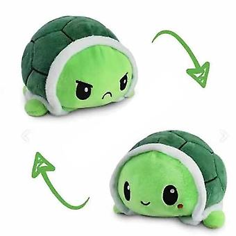 Modèle de tortue réversible animaux en peluche