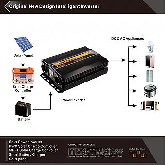 T8104 3000w/6000w Power Inverter Converter Home Use Dc To Ac Power Supply