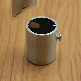 VVS flenser tykk rustfritt stål flens sete for garderobe gardin rundt tube sm153415