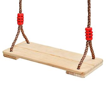 Adults And Swing Wooden Seat With Connecting Band And Buckle
