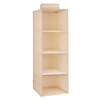 3/4/5 Shelf Hanging Closet Organizer For Clothes Storage And Shoes