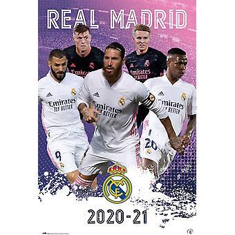 Real Madrid FC Juliste Pelaajat 23