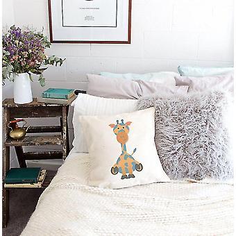 Baby Giraffe Pillow Cover For Kidins Bedroom
