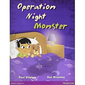 Wordsmith Year 2 Operation Night Monster - Wordsmith (Literacy Service) (Paperback)