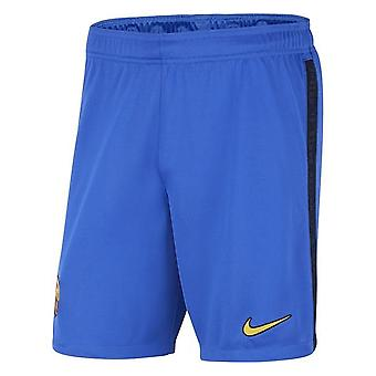 2021-2022 Barcelona 3e Shorts (Blauw) - Kinderen