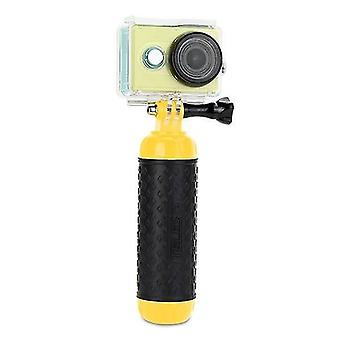 Digital cameras floating bobber anti-slip monopod stick with screw and strap for water diving gopro