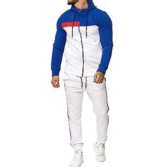 Men's Hooded Zipper Sports Suit