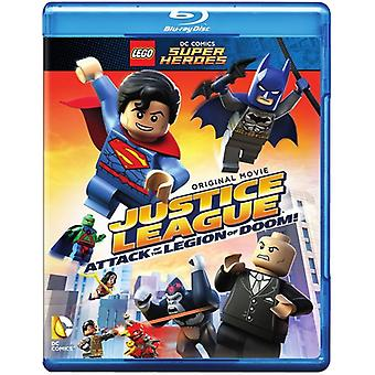 LEGO Dc Super helter: Justice League - angrep [Blu-ray] USA import