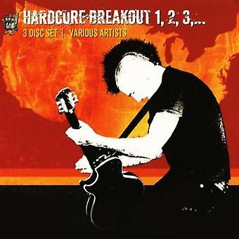 Hardcore Breakout 1 2 3 - Hardcore Breakout 1 2 3 [CD] Yhdysvallat tuoda