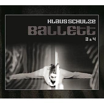 Klaus Schulze - Ballett 3 & 4 [CD] USA import
