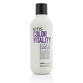 Kms California Color Vitality Blonde Shampoo (anti-yellowing And Restored Radiance) - 300ml/10.1oz