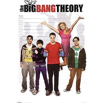 Big Bang Theory Poster Poster Print