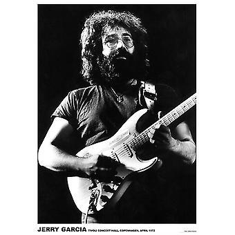 ジェリー ・ ガルシア ライブ ライブ ギター ポスター ポスター印刷