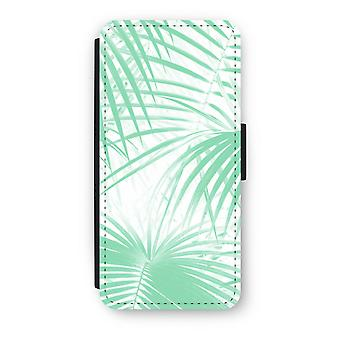 iPhone 5c Case Flip - Palm leaves