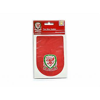 Au pays de Galles de Football officiel impôt porte-disque