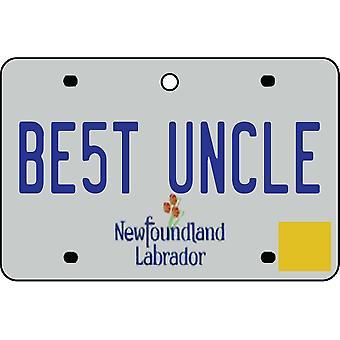 NEWFOUNDLAND AND LABRADOR - beste onkel lisens Plate bil Air Freshener