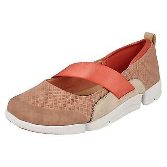 Ladies Clarks Casual Fashion Sports Shoes Tri Allie