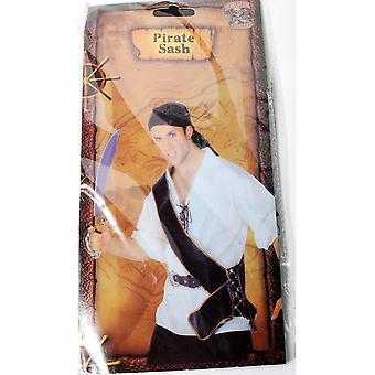 Accessoires piraat sash/gordel voor zwaard