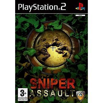 Sniper Assault (PS2) - Ny fabrik förseglad