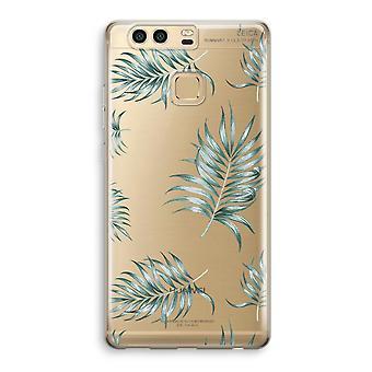 Huawei P9 gjennomsiktig sak (myk) - enkle blader