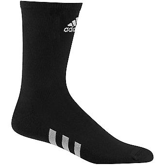 Adidas Mens Crew Antimicrobial Padded Comfortable 3 Pack Golf Socks