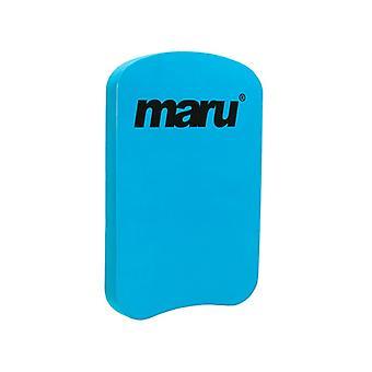 Maru Solid Kickboard - Turquoise Blue