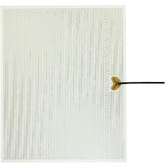 Riscaldamento di poliestere termo stagnola autoadesiva 230 V AC 50 W IP valutare IPX4 (L x W) 500 x 400 mm