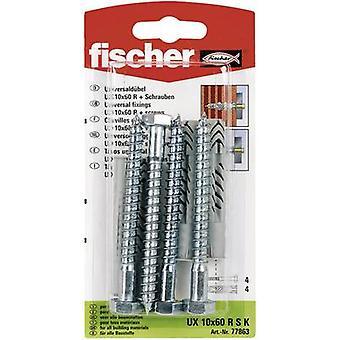 Set de Fischer UX 10 x 60 taco RS K Universal 60 mm 10 mm 1 77863