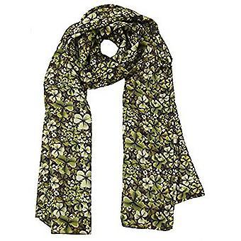 Shamrock Design Silk Scarve