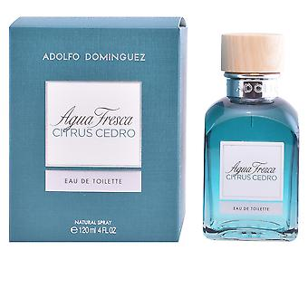 Adolfo Dominguez Agua fresca Citrus Cedro EDT Spray 120 ml unisex