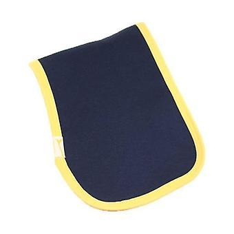 Blå & gul trimma vanligt rapa trasa