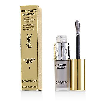 Yves Saint Laurent Full Matte Shadow - # 5 Reckless Grey - 4.5ml/0.15oz
