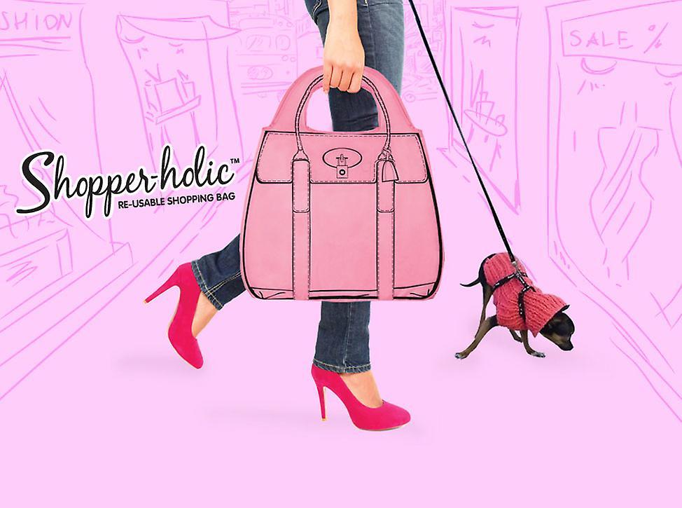 Shopperholic Shopping Bag - Champagne Brown