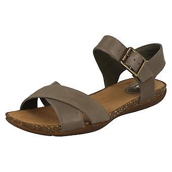 Ladies Clarks Casual sommer sandaler med spenne høst luft