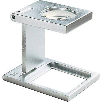 Eschenbach 1258 Linen tester Magnification: 6 x Lens size: (Ø) 22.6 mm Silver