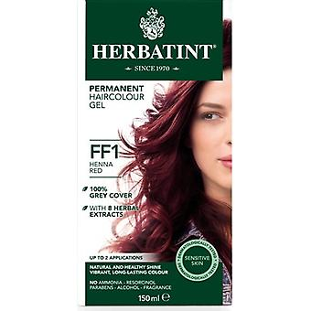 Herbatint, Henna Red Hair Colour FF1, 150ml