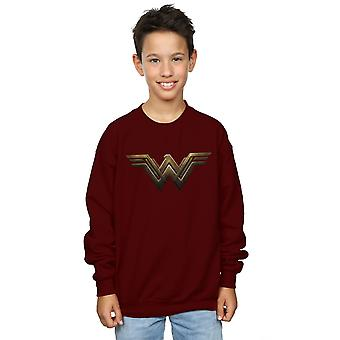 DC Comics Boys Wonder Woman Logo Sweatshirt