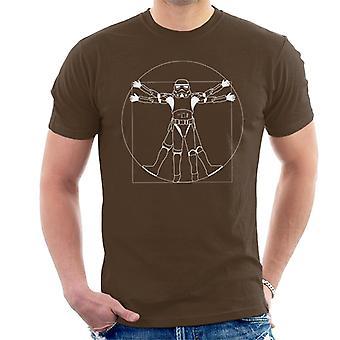 元ストームトルーパー Vitruvian Man メンズ t シャツ