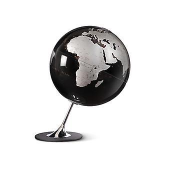 Atmosphere NR-0324AGYN-GB Globe Anglo Black 25cm Diameter Metaal / Chrome