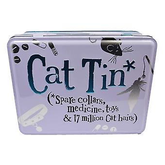 Bright Side Cats Essentials Storage Tin