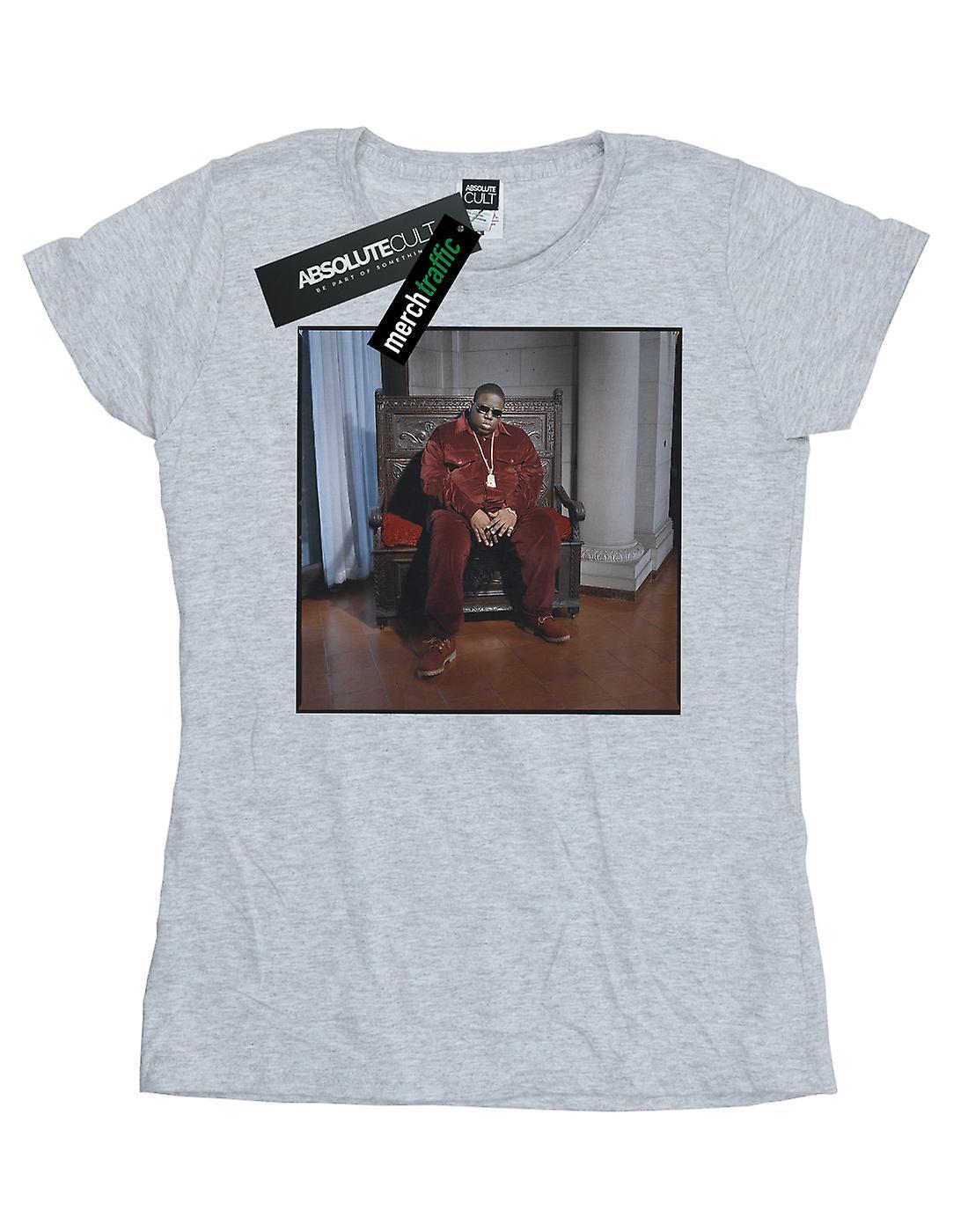 Notorious BIG Women's Biggie Chair T-Shirt