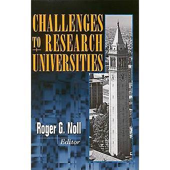 Uitdagingen voor Research Universities door Linda R. Cohen - Roger G. Noll