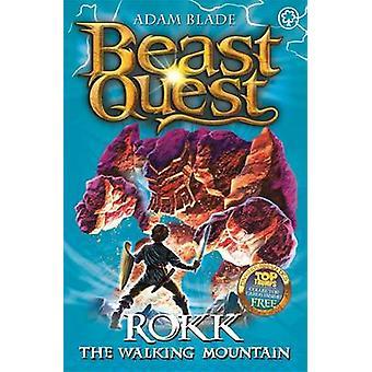 Rokk the Walking Mountain by Adam Blade - 9781408304396 Book