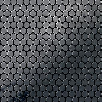 Mozaic metalic brut Steel aliaj Penny-RS