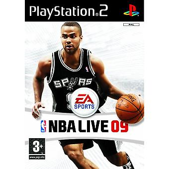 NBA Live 09 (PS2)-fabriek verzegeld