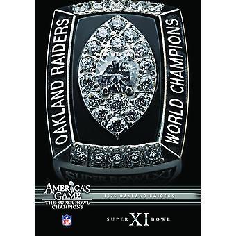 NFL America's Game: 1976 Raiders (Super Bowl Xi) [DVD] USA import