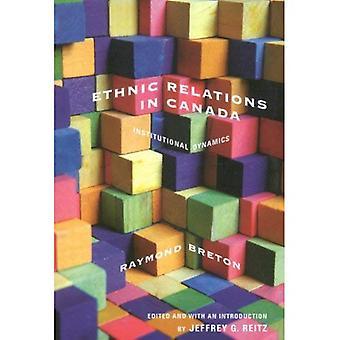 As relações étnicas no Canadá: dinâmicas institucionais (do McGill-rainha estudos em história étnica) (estudos do McGill-Queen na série história étnica)