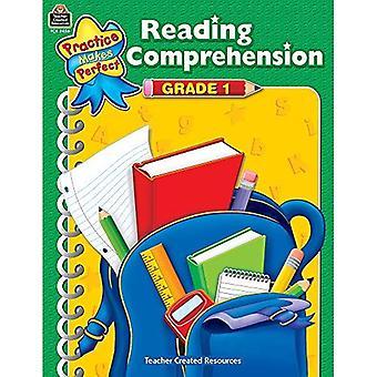 Compréhension de la lecture, de Grade 1 (la pratique rend parfait